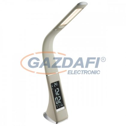 GLOBO 58337 SOPHIE Asztali lámpa , LED 6,5W , 5800 K , 300 Lm , műanyag / króm / szilikon / üveg