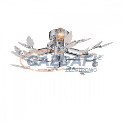 GLOBO 63100-3 Vida Mennyezeti lámpa , 40W , 3x E14 , króm , akril kristályokkal