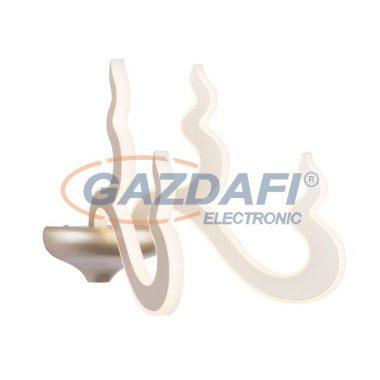 GLOBO 64001-2W Michi Fali lámpa , 20W , 3000 K , 1370 Lm , pezsgő matt , akril