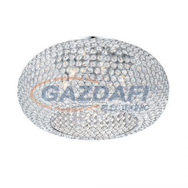 GLOBO 67017-6L Emilia Mennyezeti lámpa , 3W , G9 , 3000 K , 910 Lm , K9 kristályok , króm