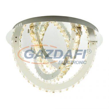 GLOBO 67038-36D Juna Mennyezeti lámpa , 36W , 4000 K , 2100 Lm ,K5 kristályok , króm