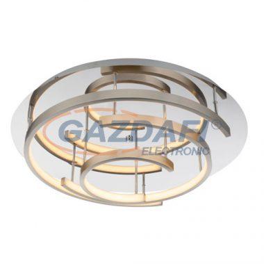 GLOBO 67092-47 Titus Mennyezeti lámpa , 47W , 3000 K , 1880 Lm , műanyag , króm/ nikkel matt
