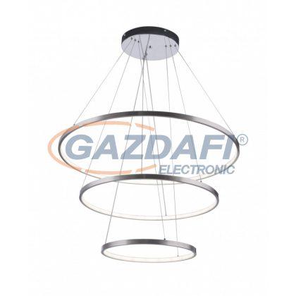 GLOBO 67092-80H Titus Beltéri lámpa , 80W , 3000-6000 K , 50-3200 Lm , műanyag ,króm/nikkel matt
