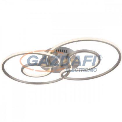 GLOBO 67093-40 Sofia  Mennyezeti lámpa  , 40W , 3000 K , 2357 Lm ,szilikon , nikkel matt