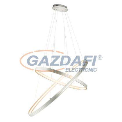 GLOBO 67094-50H Rickon Beltéri lámpa , 52W , 3000 K , 1937 Lm , csiszolt alumínium , K5 kristályok
