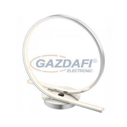 GLOBO 67817-21T Asztali lámpa króm, akril, LED 21W 24V, 1300lm, 3000K, 300x110x276mm