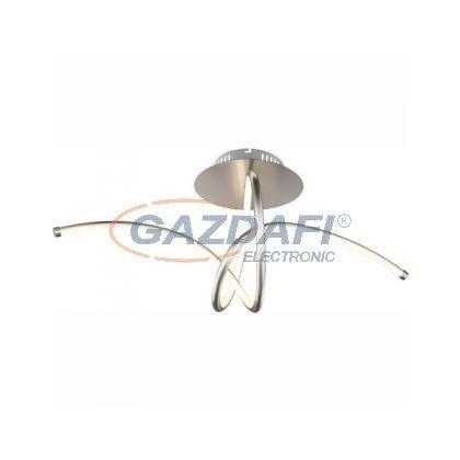 GLOBO 67825-30D Mennyezeti matt króm, akril opál, LED 30W 60V, 2400lm, 3200K, 700x300x345mm