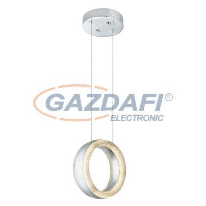 GLOBO 67839-12 Tully Beltéri lámpa , 12W , 3500 K ,477 Lm , króm / akrilkristályok / akril