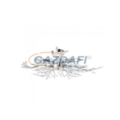 GLOBO 68541-5 Mennyezeti króm, akryl dekor átlátszó, E14 40W 230V, Ø710x160