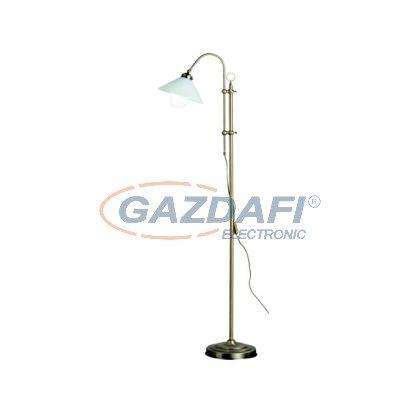 GLOBO 6871-1 Álló bronz,üveg opál, E14 40W 230V, 330x540mm