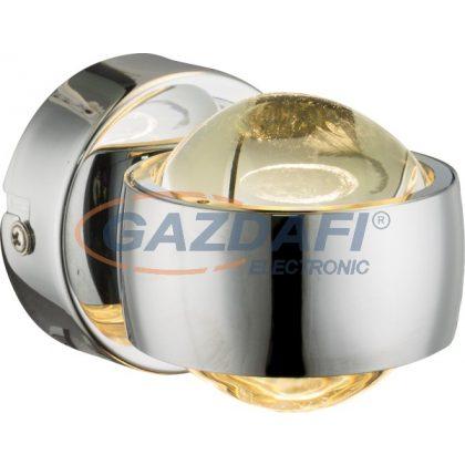 GLOBO 78292 Randi Fali lámpa , 6W , 3000 K , 420 Lm , króm , üveg
