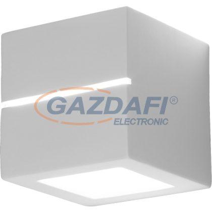 GLOBO 7859 JUNIPUS fali lámpa,fehér E27 60W 230V 140x140x140mm IP20 A++,A+,A,B,C,D,E