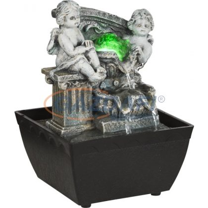 GLOBO 93028 ALBERT asztali szökőkút RGB LED 0,13W 12V ø130x130x190mm IP20