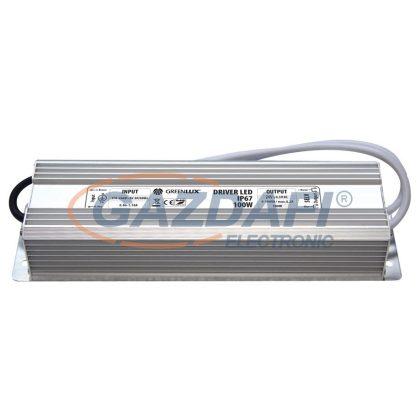 GREENLUX GXLD031 LED tápegység 24V IP67 150W