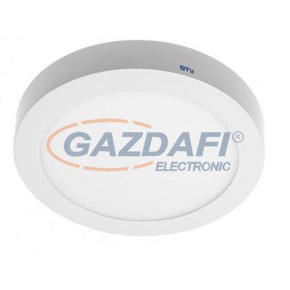 GTV LD-ORN07W-CBP LED panel falon kívüli, kerek 7W, 560lm, AC220-240V, 50/60Hz 3000K, IP20