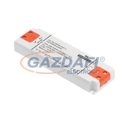 GTV LD-SZAHQ15W-MA LED tápegység SLIM HQ 15W, 220-240AC bemenet, 50/60Hz, 12VDC kimenet IP20, 128x50x14 mm