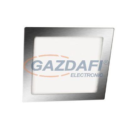 GREENLUX GXDW207 LED15 VEGA-S Süllyesztett szögletes SMD LED lámpa matt króm 3W természetes fehér