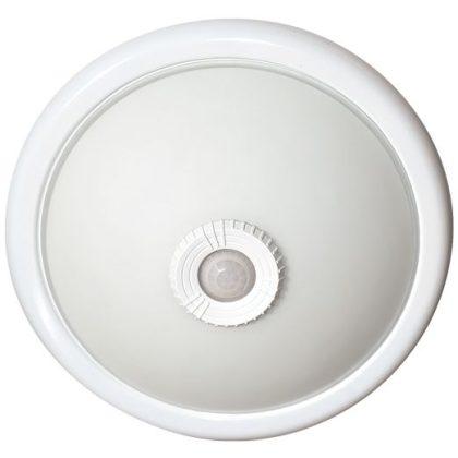 GREENLUX GXIZ021 MANA II mennyezeti/ lámpa, beép. IR mozg. érzékelő, 2xE27, 2x40W, IP20, fehér