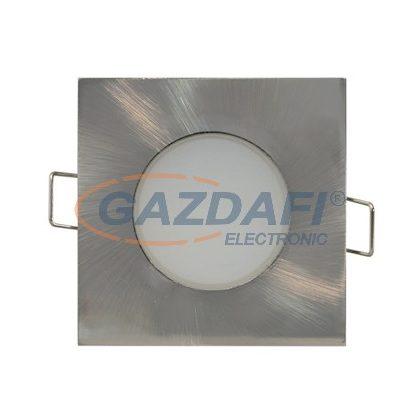 GREENLUX GXLL027 LED BONO süllyesztett szögletes SMD LED lámpa matt króm 5W természetes fehér