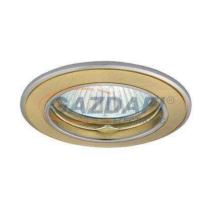 GREENLUX GXPL020 AXL 5514-SG/N süllyesztett spotlámpa, fix, szatén arany/nikkel