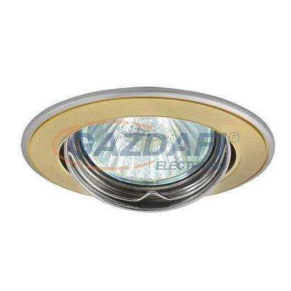 GREENLUX GXPL045 AXL 5515-SG/N süllyesztett spotlámpa, billenthető, szatén arany/nikkel