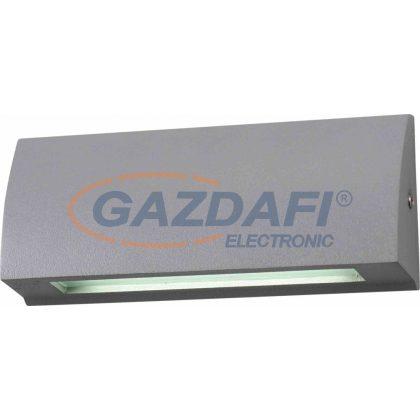GREENLUX GXPS076 STEP LED lépcsővilágító lámpatest, falon kívüli, 6W, szürke, 4000K, IP54, A++ - A