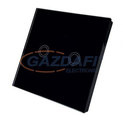 GREENLUX GXSH043 WiFi SWITCH Kettős kapcsoló fekete színben