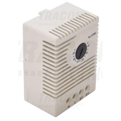 TRACON HGS-01 Páratartalom érzékelő (higrosztát) 1×CO, 5A, 250V AC