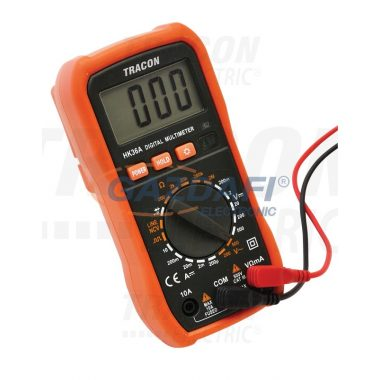 TRACON HK36A Digitális multiméter DCV,ACV,DCA,OHM,diode check,NCV,signal
