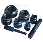 TRACON HKS-15-22 Kivágó szerszámfej, kör alak, D=22mm-es nyomógombokhoz D=22mm