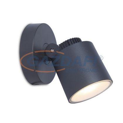 LUTEC 6609202118 EXPLORER Fali LED lámpatest, 5W 380Lm 3000K IP54