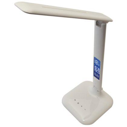 TRACON LALD4W LED asztali lámpa, szab. fényerő és színhőm., LCD kijelző 100-240 V, 50 Hz, 4 W, 2700-6000 K