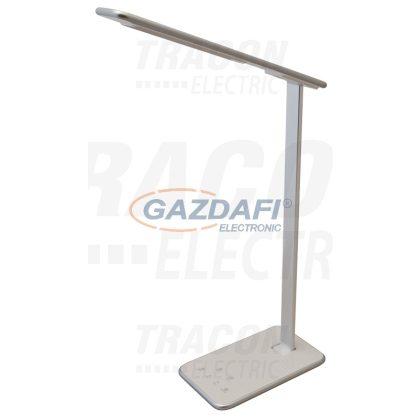 TRACON LALUSB10W LED asztali lámpa, szab. fényerő és színhőm., USB töltő 100-240 V, 50 Hz, 10 W, 2700-6000 K