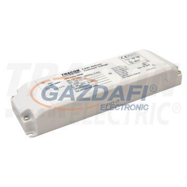 TRACON LED-CV-30W LED meghajtó, állandó feszültségű 100-240 VAC/12VDC; 3 A; 36 W; IP20