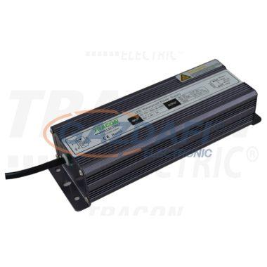 TRACON LED-CV65-100W LED meghajtó, állandó feszültségű 100-240 VAC/12VDC; 8,4A; 100 W; IP67