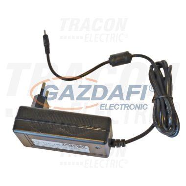 TRACON LED-CVD-24W Tápegység LED világítókhoz, dugaszolható típus 230 VAC/12 VDC, 24 W