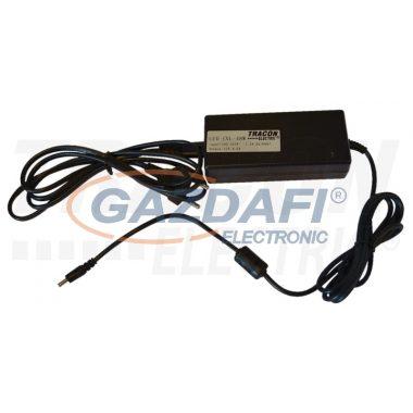 TRACON LED-CVL-24W Tápegység LED világítókhoz, lapos kivitel 230 VAC/12 VDC, 24 W