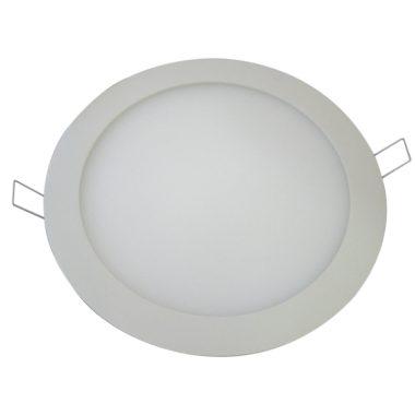 TRACON LED-DL-12NW Beépíthető LED mélysugárzó, kerek, fehér 220-240 VAC; 12 W; 850 lm; D=174 mm, 4000 K; IP40, EEI=A