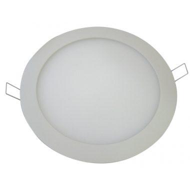 TRACON LED-DL-12WW Beépíthető LED mélysugárzó, fehér 220-240 VAC; 12 W; 850 lm; D=174 mm, 2700 K; IP40, EEI=A