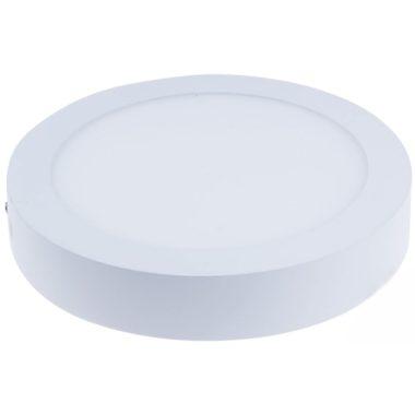 TRACON LED-DLF-12NW Falon kívüli LED mélysugárzó, kerek, fehér 85-265 VAC; 12 W; 800 lm; D=175 mm, 4000 K; IP40, EEI=A