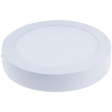TRACON LED-DLF-6NW Falon kívüli LED mélysugárzó, kerek, fehér 85-265 VAC; 6 W; 330 lm; D=120 mm, 4000 K; IP40, EEI=A