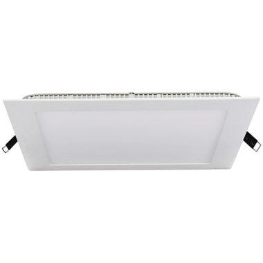 TRACON LED-DLN-12NW Négyzet alakú, süllyeszthető LED panel 220-240 VAC; 12 W; 850 lm; 172×172 mm, 4000 K; IP40, EEI=A