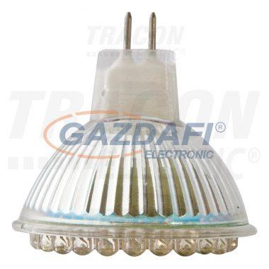 TRACON LED-MR16-60-CW LED spot fényforrás 12 V AC/DC, MR16, 2,7W, 6300K, 200lm, 60×LED, 120°