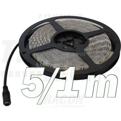 TRACON LED-SZK-48-NW LED szalag, kültéri SMD3528; 60 LED/m; 4,8 W/m; 180 lm/m; W=8 mm; 4000 K; IP65, 5 db/csomag
