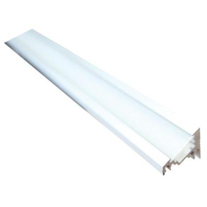 TRACON LEDSZCORNER Alumínium profil LED szalagokhoz, sarok W=10 mm