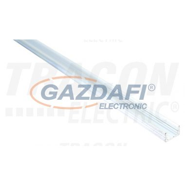 TRACON LEDSZSLIM Alumínium profil LED szalagokhoz, lapos W=8 mm