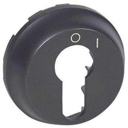 LEGRAND 067969 Céliane burkolat 2 állású kulcsos kapcsolóhoz, grafit