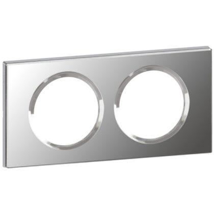 LEGRAND 069122 Céliane 2-es keret tükör hatású üveg