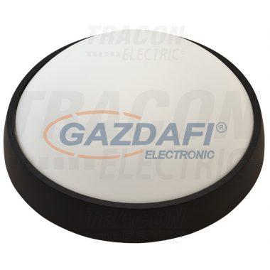 TRACON LH8NW Műanyag házas LED hajólámpa, kerek, rács nélkül 230 V, 50 Hz, 8 W, 540 lm, 4000 K, IP54, EEI=A