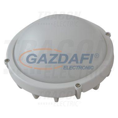 TRACON LHLK8W Fém LED hajólámpa, kerek, fehér 220-240V AC, 8W, 4000K, IP65, 640lm, EEI=A